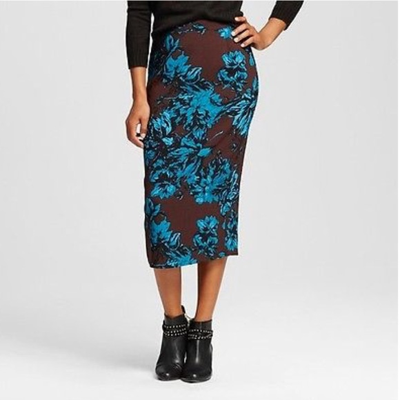 lowest price release info on sale uk NWT WhoWhatWear Pencil Mid-Calf Skirt NWT